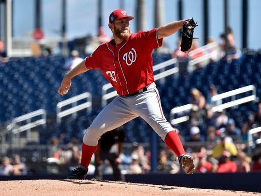 MLB: Spring Training-Washington Nationals at Houston Astros