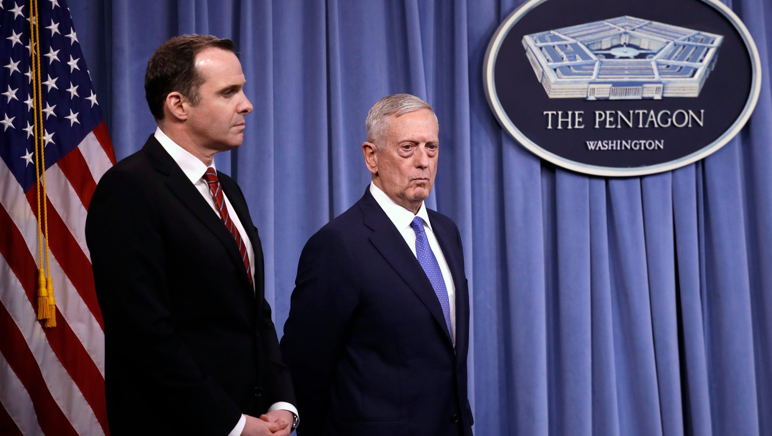 Defense Secretary Jim Mattis says President Trump's orders will annihilate ISIS
