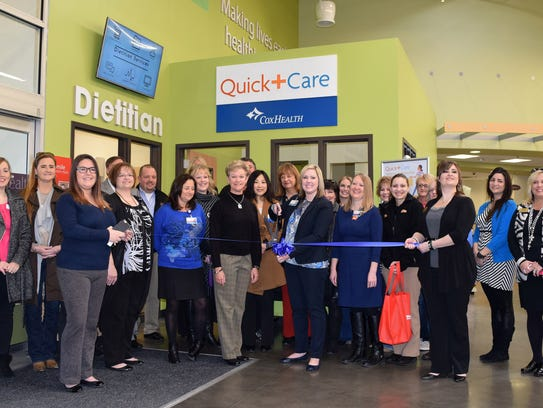 A ribbon cutting was held Friday to mark the grand