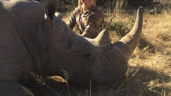 Kendall Jones, 19, has been on several big game hunts in Africa since she was 9. The Texas Tech cheerleader's posts of her various trophies has sparked an online petition seeking to ban her from Facebook over what activists say are inhumane photos.