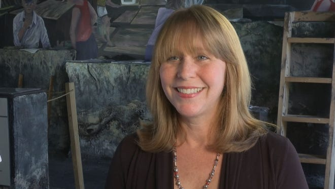 """Patty Meyers, director of the Brevard Museum of History and Natural Science in Cocoa and the Florida Historical Society Archaeological Institute, has been overseeing the creation of the improved and expanded """"People of Windover"""" exhibition. The exhibition opens this weekend."""