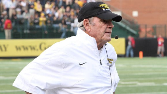 Former Appalachian State football coach Jerry Moore