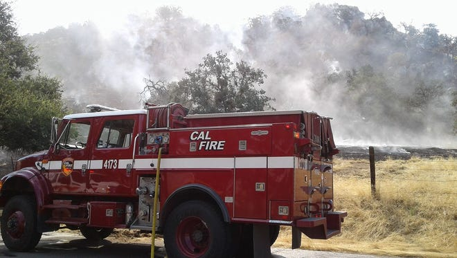 A Tulare County man suspected of starting several fires along Highway 198 since 2015 was arrested in Coalinga on Oct. 22, Cal Fire officials announced this week.