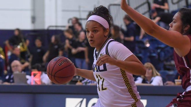 NAU senior Kenna McDavis from Phoenix Pinnacle High School is one of the top returners for the 2017-18 season.