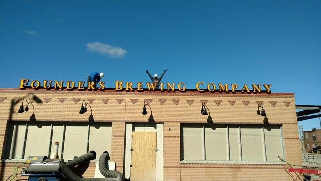 Founders Brewing Company will open its Detroit taproom on Monday, Dec. 4 at 3 p.m.