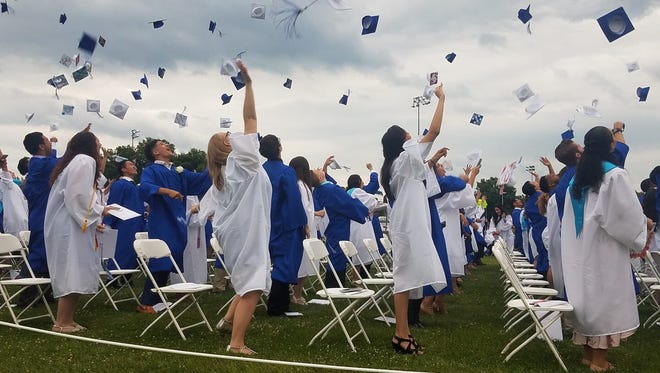 Middlesex High School held graduation exercises for its Class of 2018 on June 20 at the school.