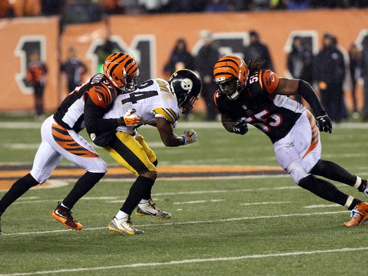 NFL: AFC Wild Card-Pittsburgh Steelers at Cincinnati Bengals