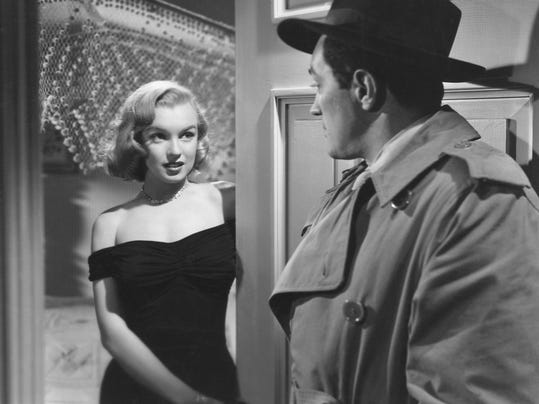 Asphalt Jungle, Monroe, Marilyn
