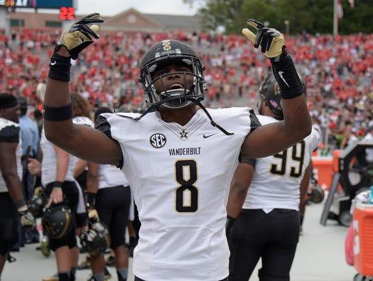 NCAA Football: Vanderbilt at Georgia