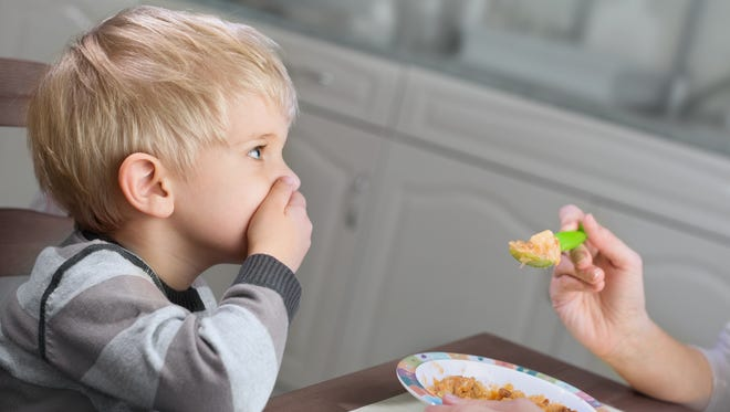 It can take several tries for a child to develop a taste for some foods.