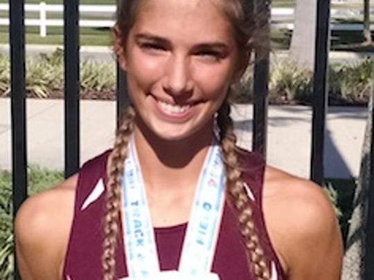 Sydney Beam, First Baptist Academy track and field