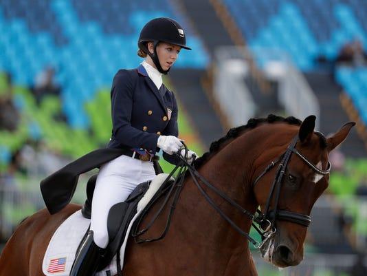 AP RIO OLYMPICS EQUESTRIAN S OLY EQU BRA