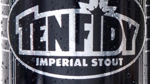 Ten FIDY Imperial Stout returns Friday at the Tasty Weasel taproom at Oskar Blues in Brevard.