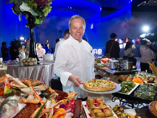 Master chef Wolfgang Puck returns to create this year's Governors Ball menu.