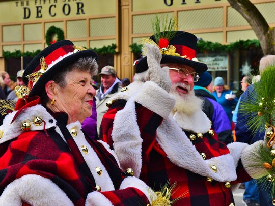 Wellsboro's Dickens of a Christmas features crowds of people in early Victorian costume, over 175 craft and food vendors, a Christmas tree lighting and carol sing.