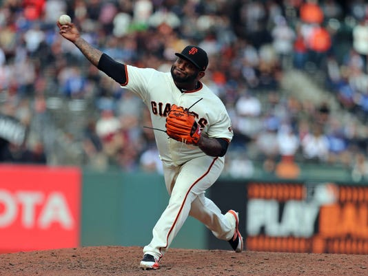 MLB: Game 1-Los Angeles Dodgers at San Francisco Giants