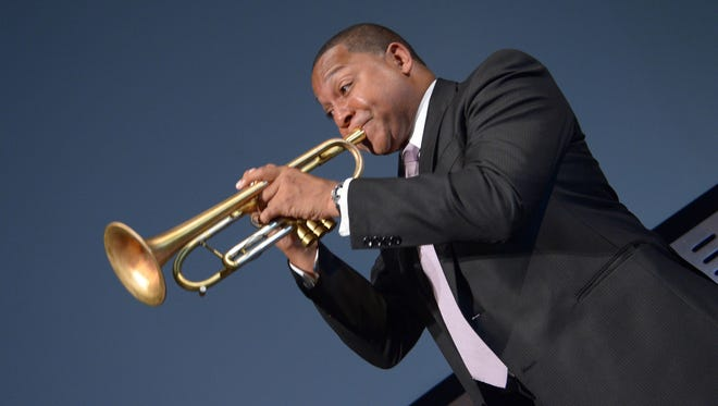 """Wynton Marsalis attends New York Premiere of HBO's """"Wynton Marsalis: A Youngarts Masterclass"""" at Museum of Modern Art on Sept. 3, 2013 in New York City."""