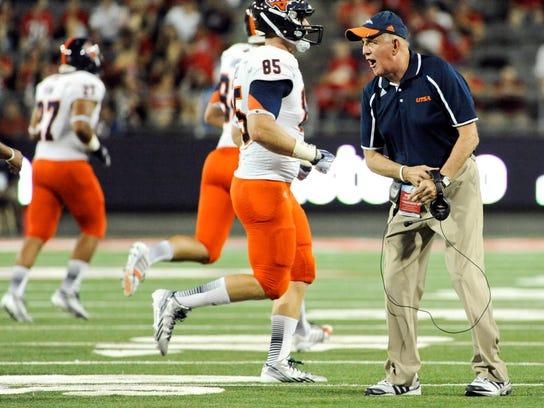 NCAA Football: Texas-San Antonio at Arizona