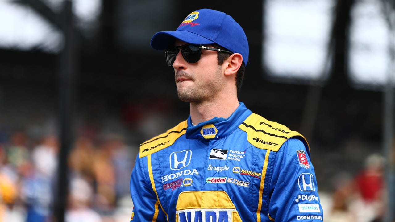 USA TODAY Sports' Larry Berger speaks with  Alexander Rossi about winning last year's Indianapolis 500 and the upcoming IndyCar season.