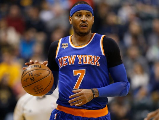 Carmelo Anthony not ruling out anything on trade