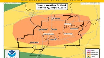 More severe weather possible this evening