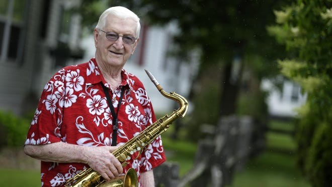 Harry Boll, a Menasha saxophonist who has played in bands for 70 years, is calling it a career after a show in Appleton on Saturday.