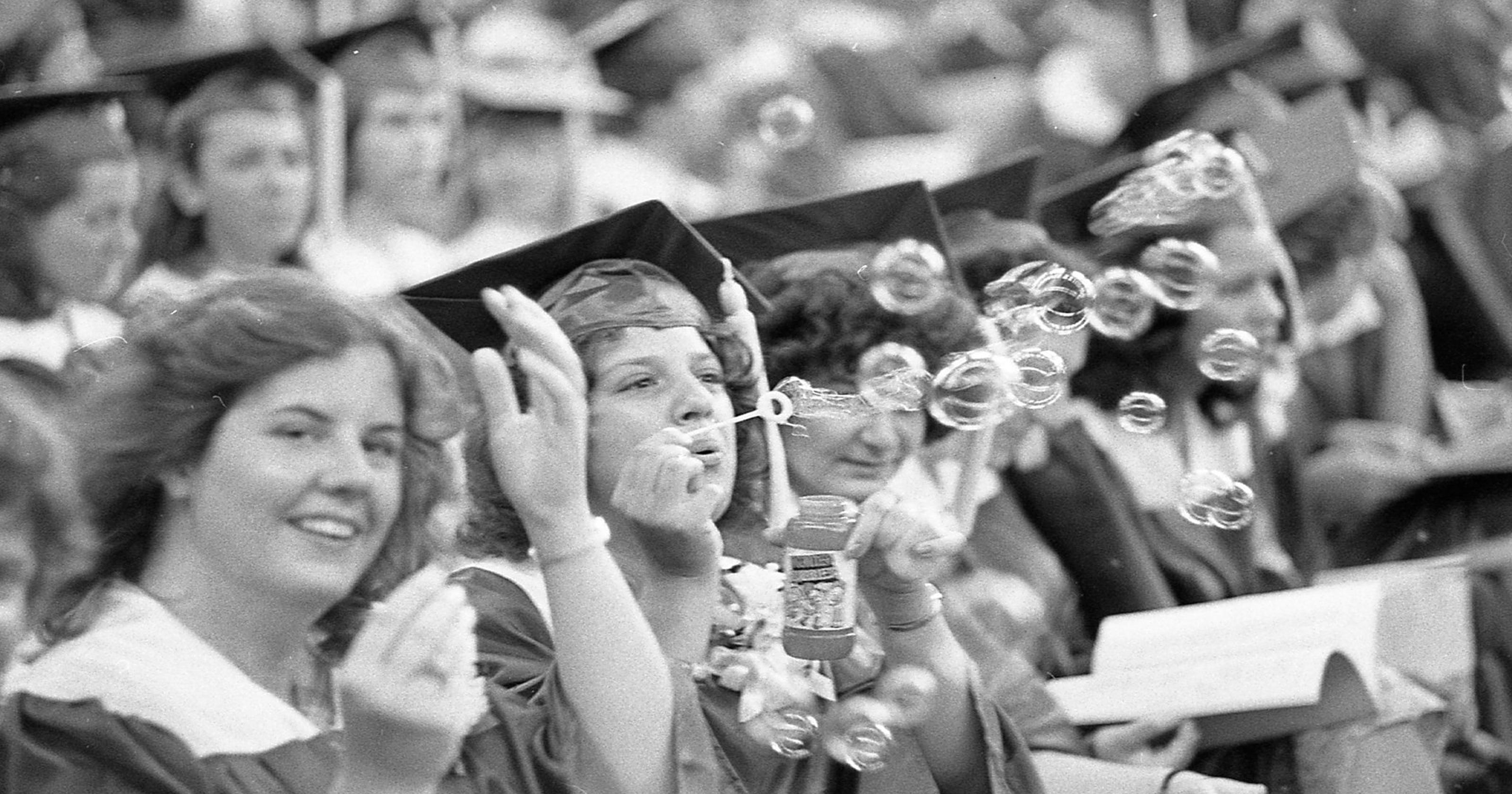 From the Archives: MSU commencements through the years