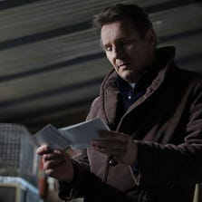 """Liam Neeson in """"A Walk Among Tombstones"""""""