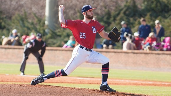 Roberson alum Alex Ledford is now a college pitcher for Samford (Ala.).