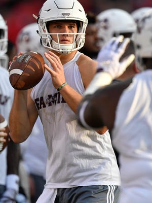 Mississippi State quarterback Nick Fitzgerald has thrown for 626 yards, seven touchdowns and three interceptions.