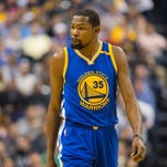 Kevin Durant, alleged NBA villain, ignoring the noise: 'I'm at peace'