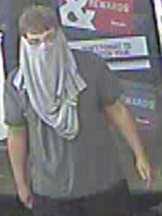 West Des Moines robber, July 27, 2016 2