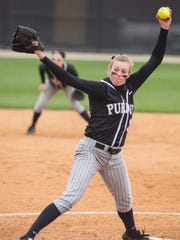 Purdue senior pitcher Lilly Fecho is an All-America