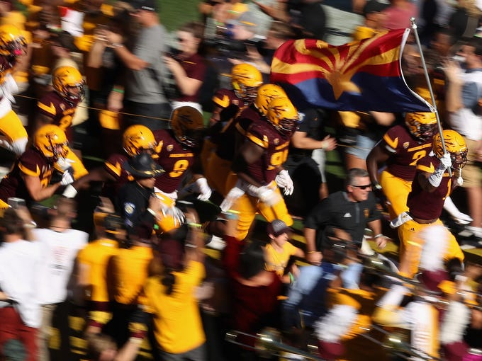 ASU faces a challenging football schedule in 2018.