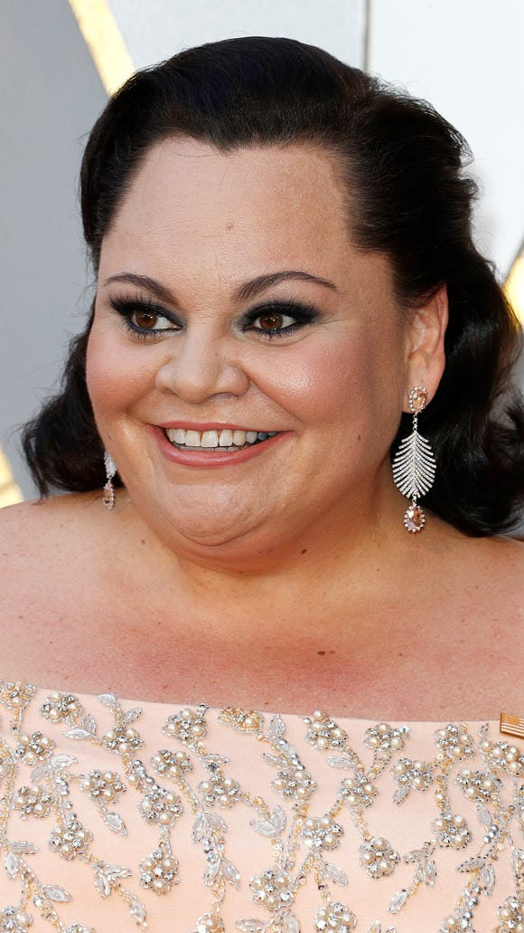 Keala Settle arrives for the Academy Awards in Hollywood on March 4, 2018.