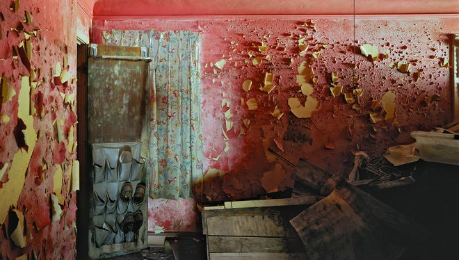 "One of Robert Polidori's post-Katrina images: ""6539 Canal Street, New Orleans, LA, 2005."""