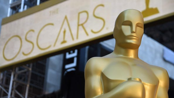 ROBYN BECK,  AFP/Getty Images An Oscar statue is seen
