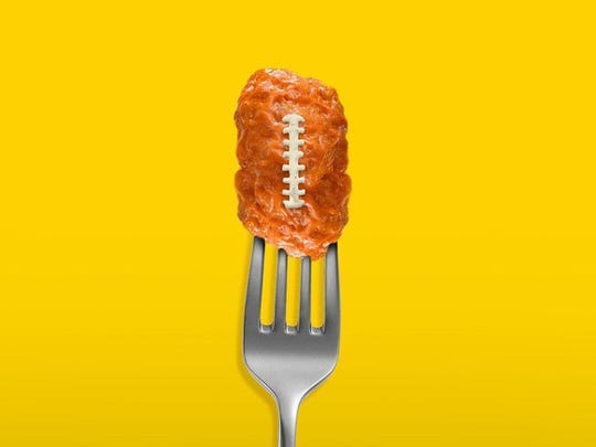 Americans eat over 1 billion chicken wings on Super Bowl Sunday.