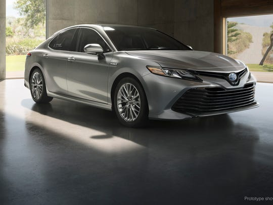 Top midsize car: Toyota Camry