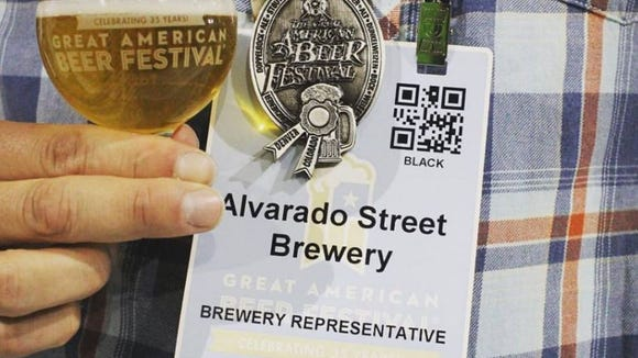 Alvarado Street Brewery's Mai Tai P.A. took home a silver medal at the 2016 Great American Beer Festival in Denver last week.