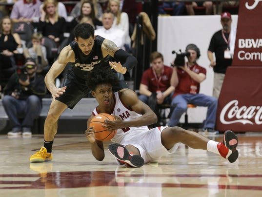 NCAA Basketball: Missouri at Alabama