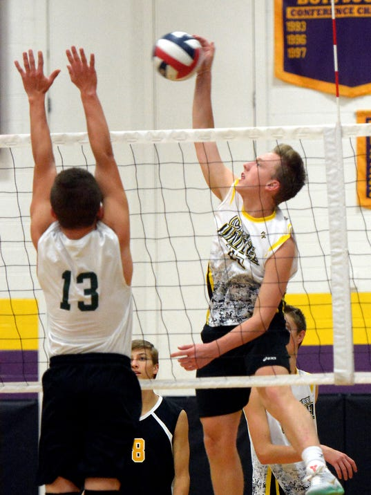 Boys Volleyball: Greenfield/Whitnall at New Berlin
