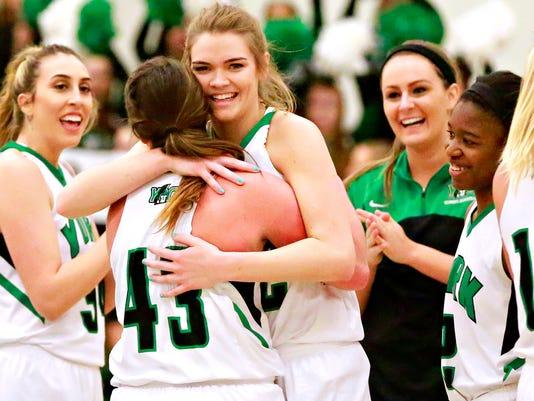 York College vs Wesley College women's basketball