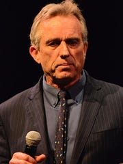(NEWS) 01/24/17 Red Bank, NJ Robert F. Kennedy Jr. speaks during the Fearless Parent Focus for Health event at the Two Rivers Theater in Red Bank on Tuesday evening. Frank Galipo/Correspondent NJ4 Daily Images 0123 H