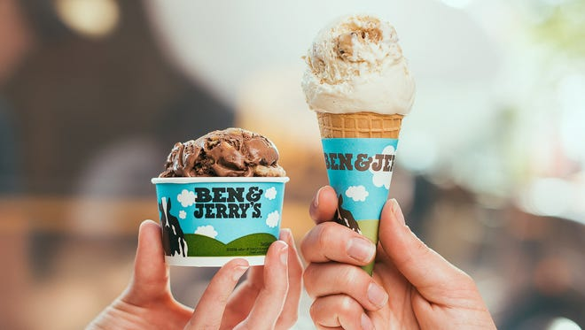 Cup or cone? It's your choice during Ben & Jerry's Free Cone Day April 10.
