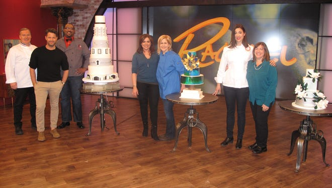 "Dana Herbert appeared Friday on ""The Rachael Ray Show."""