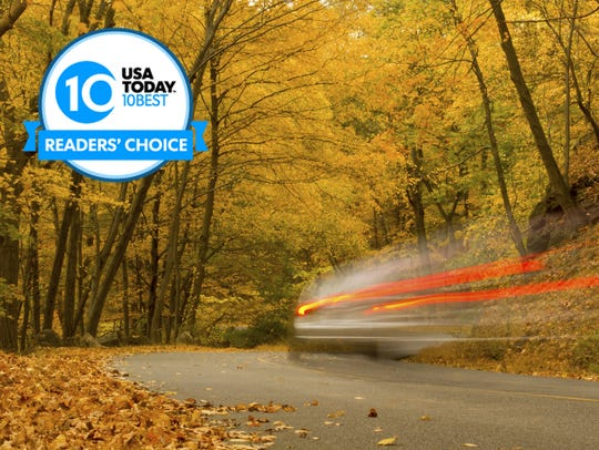 Vote for your favorite scenic autumn drive once per
