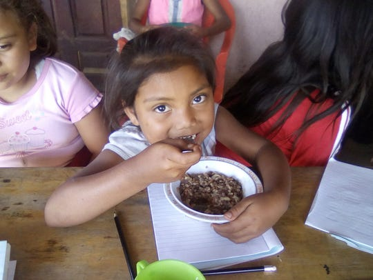 Feeding centers, such as this one in El Crucero in