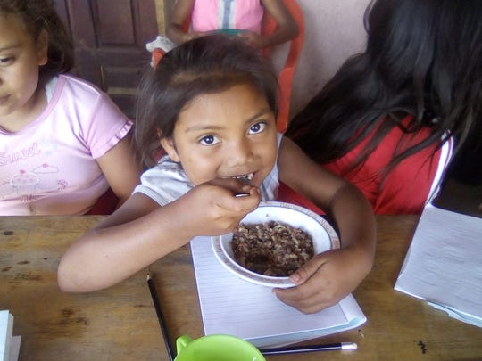 Feeding centers, such as this one in El Crucero in the San Ramon  network, help to ensure that children, pregnant and nursing mothers, the elderly and the sick are given needed nutrition every day.
