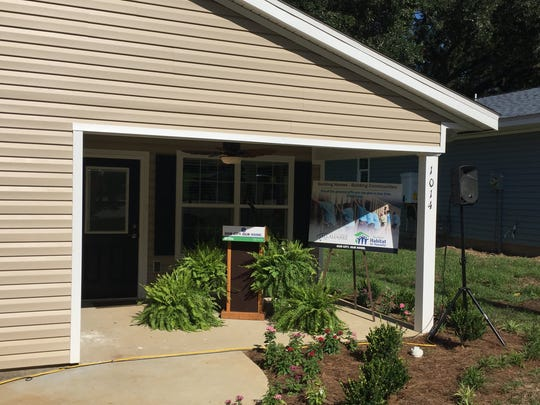 The city of Tallahassee partnered with Habitat for Humanity to build and donate three homes for community members in need.